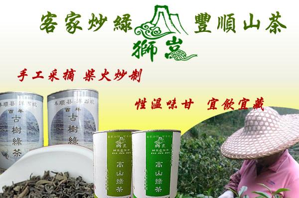 纯种小叶绿茶