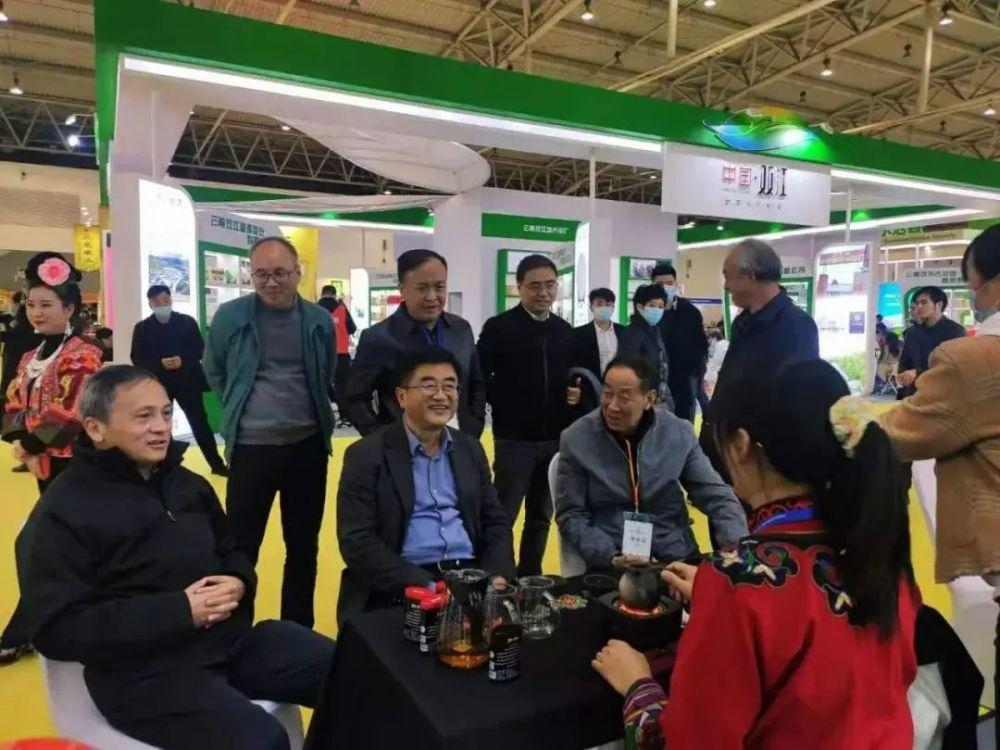 """""""贵州绿茶""""亮相北京!第十二届北京茶博会贵州展团大放异彩.."""
